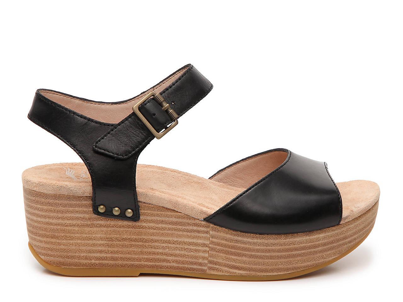 f742c1660eb Dansko Silvie Wedge Sandal Men s Shoes