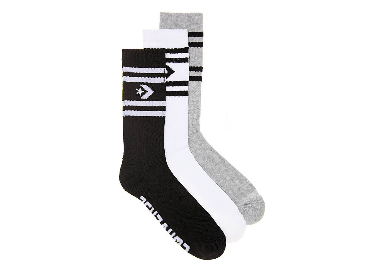 c52d5a5827b51 Half Cushion Men's Crew Socks - 3 Pack
