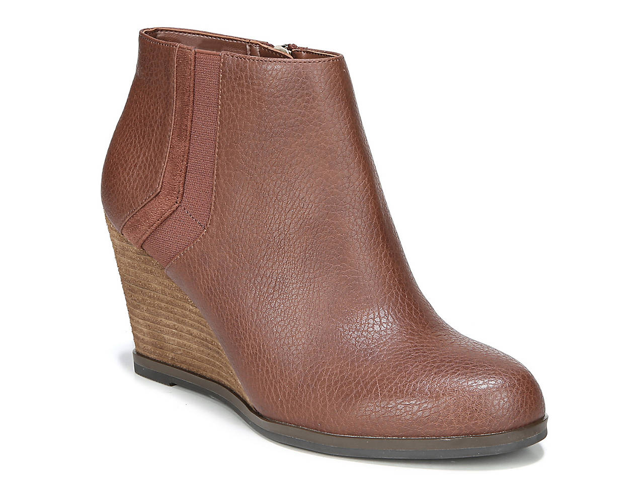 08806410b7f Dr. Scholl s Patch Wedge Bootie Women s Shoes