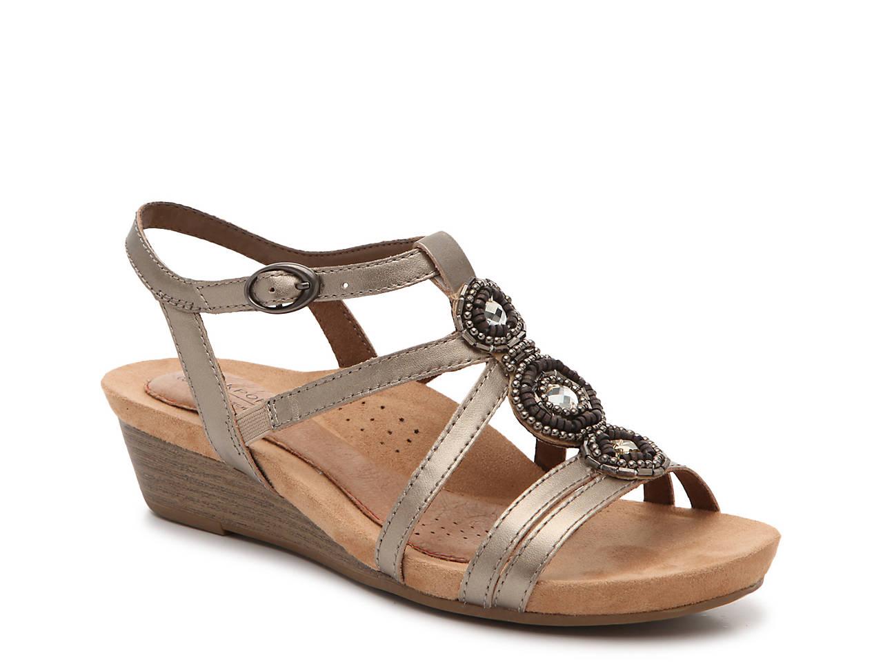 f622d3095 Rockport Cobb Hill Hannah Wedge Sandal Women s Shoes