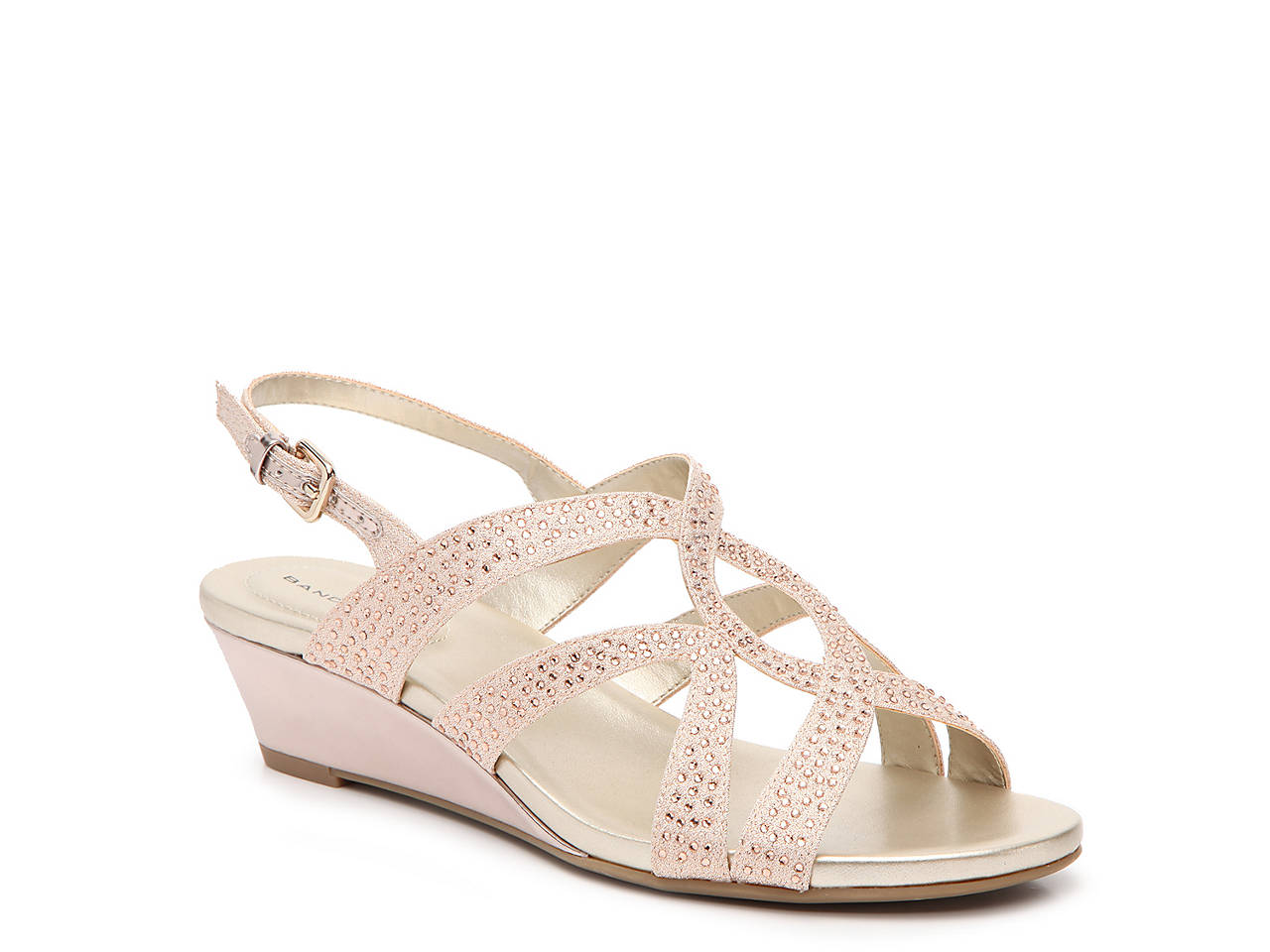 d916cf0ef0 Bandolino Giove Wedge Sandal Women's Shoes | DSW