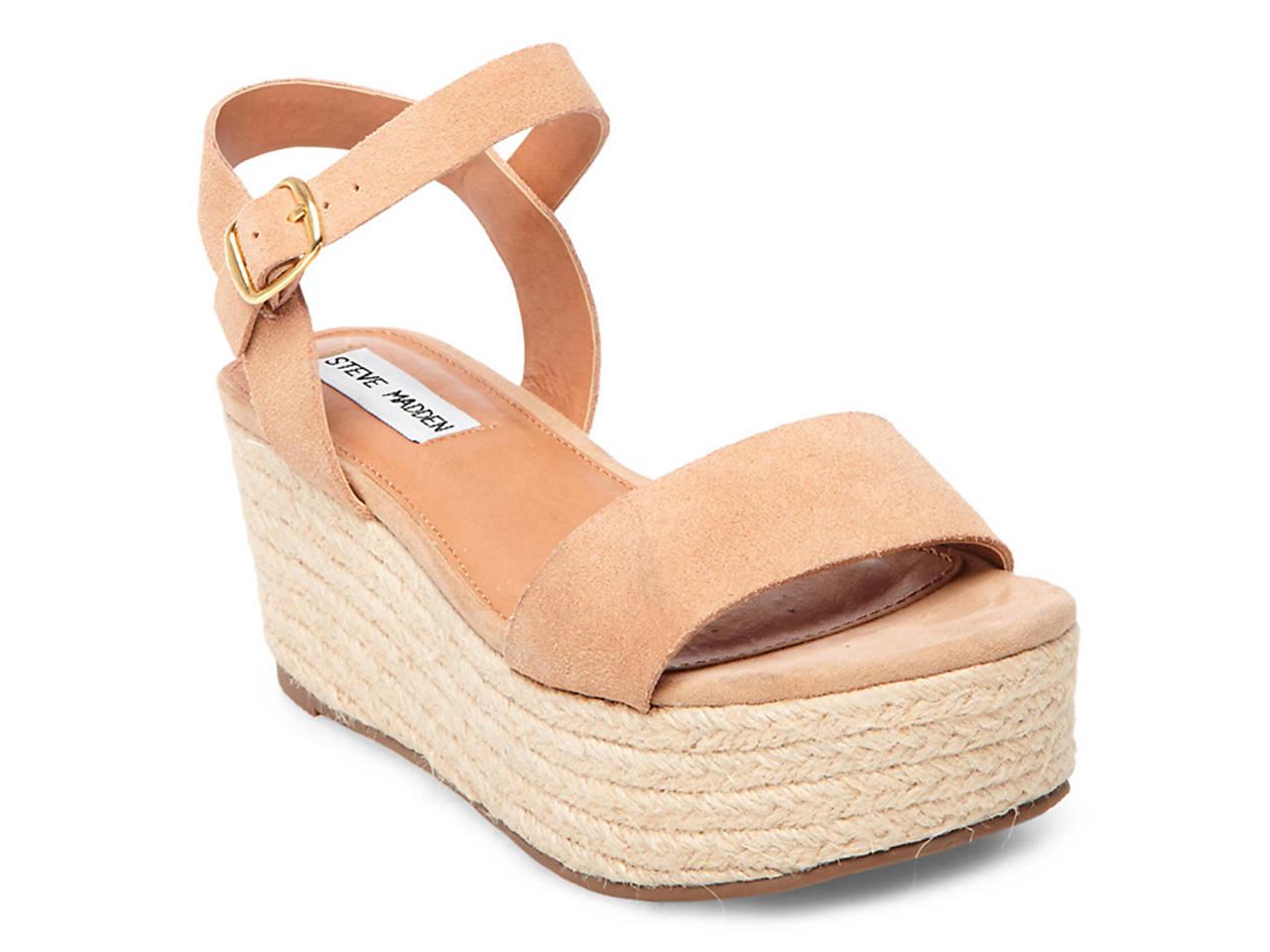 3b193072fe6 Steve Madden Busy Espadrille Platform Sandal Women s Shoes