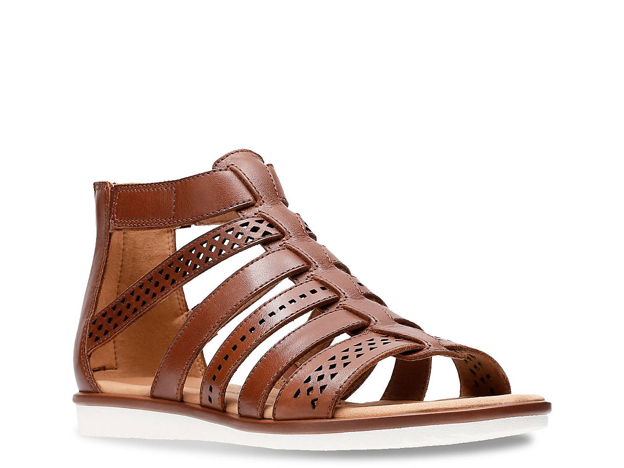 2b0617b51a5 Clarks Kele Lotus Gladiator Sandal Women s Shoes