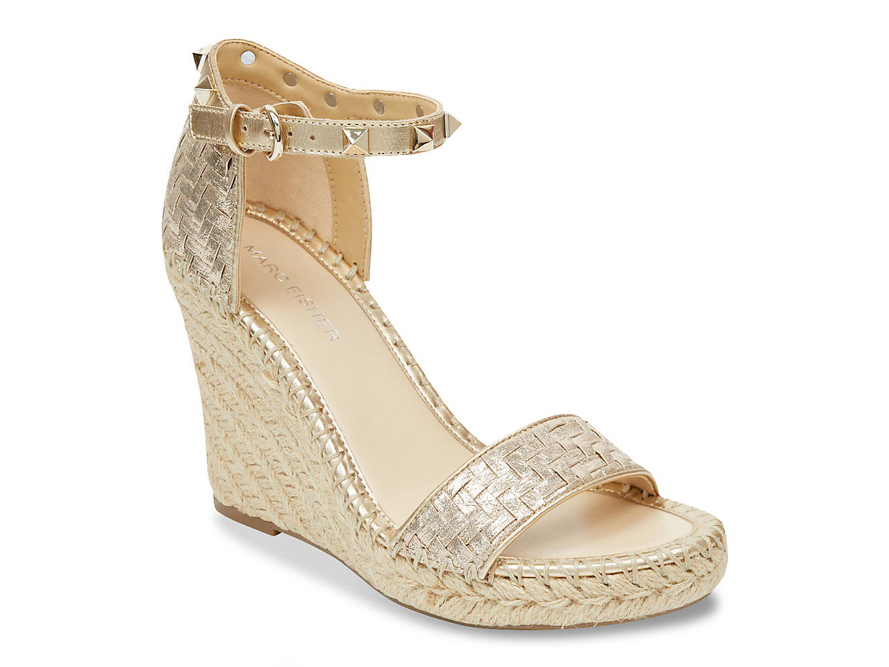 d22987264e Marc Fisher Kicking Wedge Sandal Women's Shoes | DSW