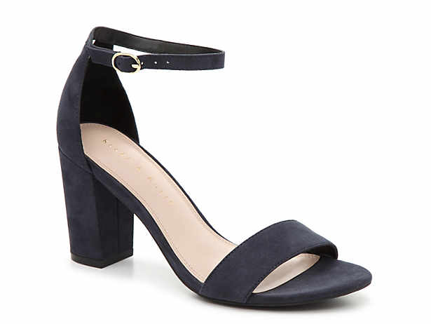 Navy Blue Sandals Dsw