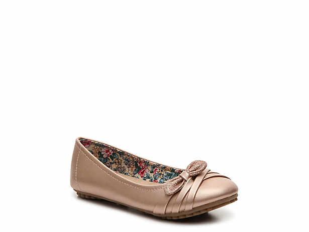 Gisela Toddler & Youth Ballet Flat