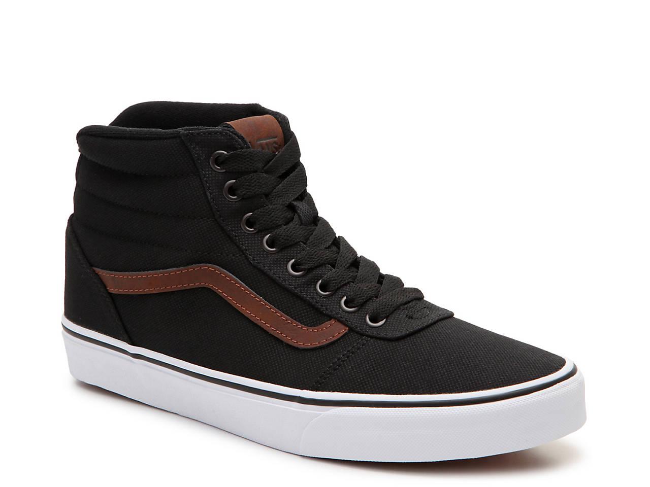 b216da8f08e42 Vans Ward Hi Canvas High-Top Sneaker - Men s Men s Shoes