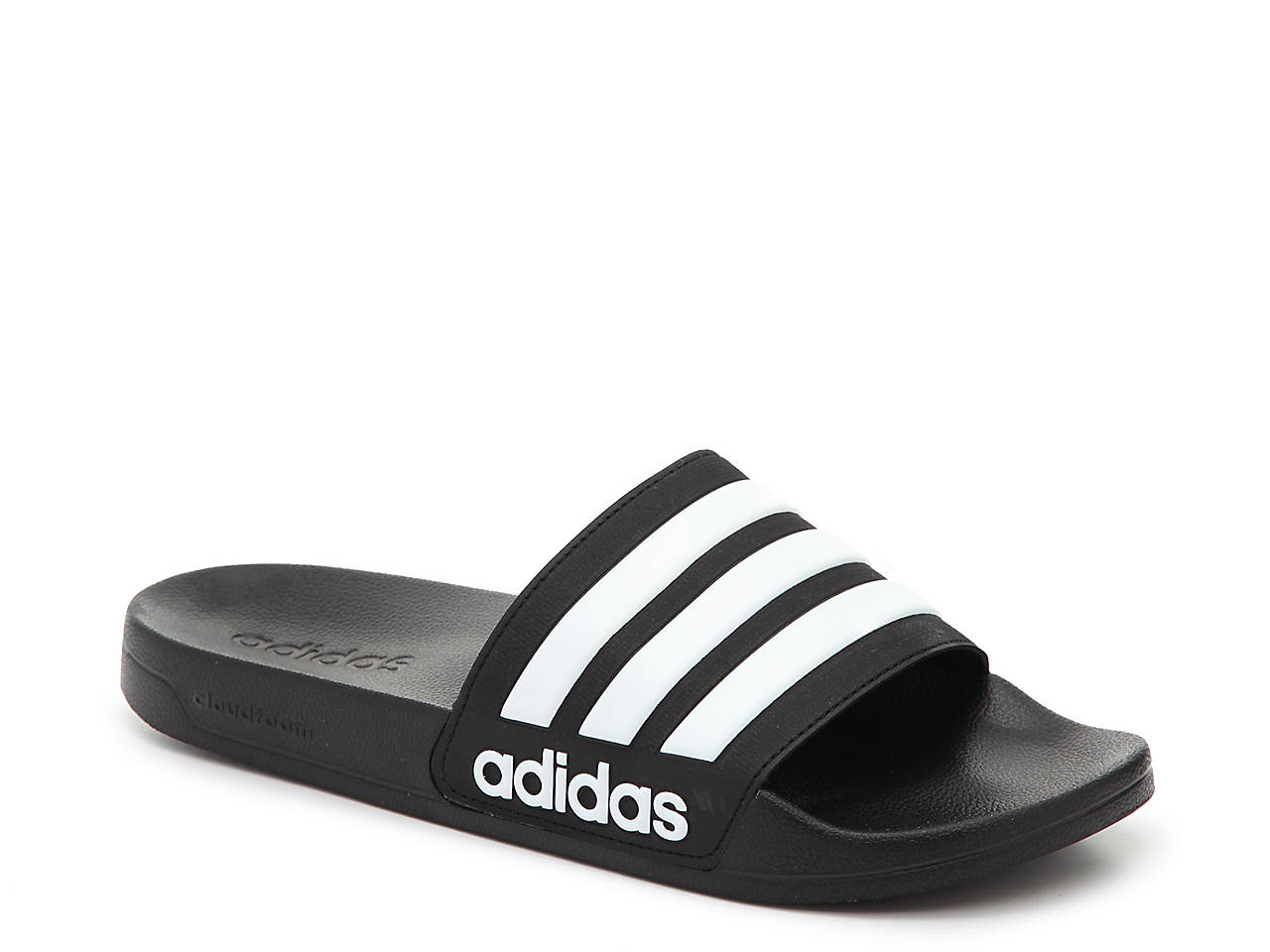 separation shoes edfad a7cd8 adidas Adilette Shower Slide Sandal - Men s Men s Shoes   DSW