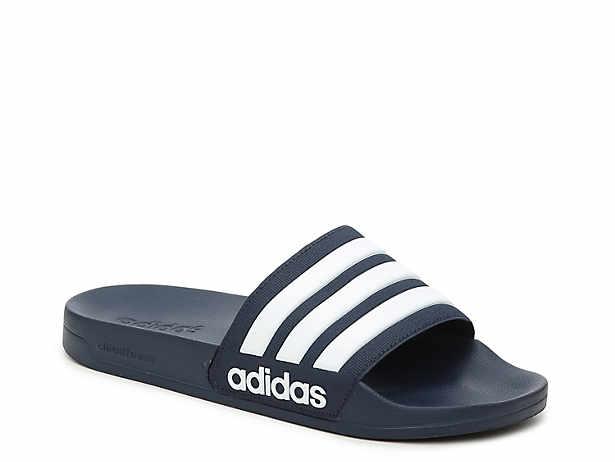 adidas Adissage Slide Sandal - Men's Men's Shoes | DSW