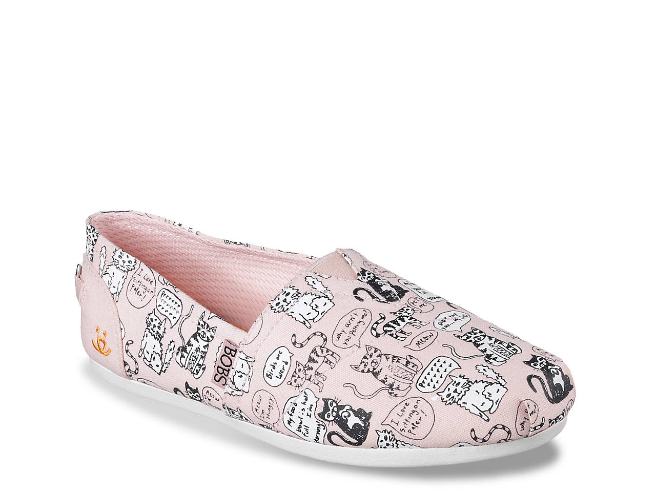 0bb033f63774d Skechers BOBS Quote Me Cats Slip-On Women's Shoes | DSW