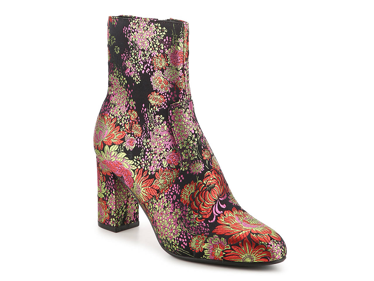 Loving this floral print bootie