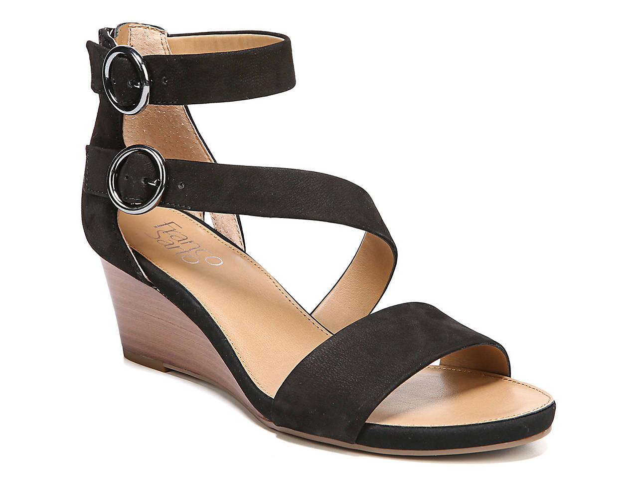 3099b0d016f9 Franco Sarto Derek Wedge Sandal Women s Shoes