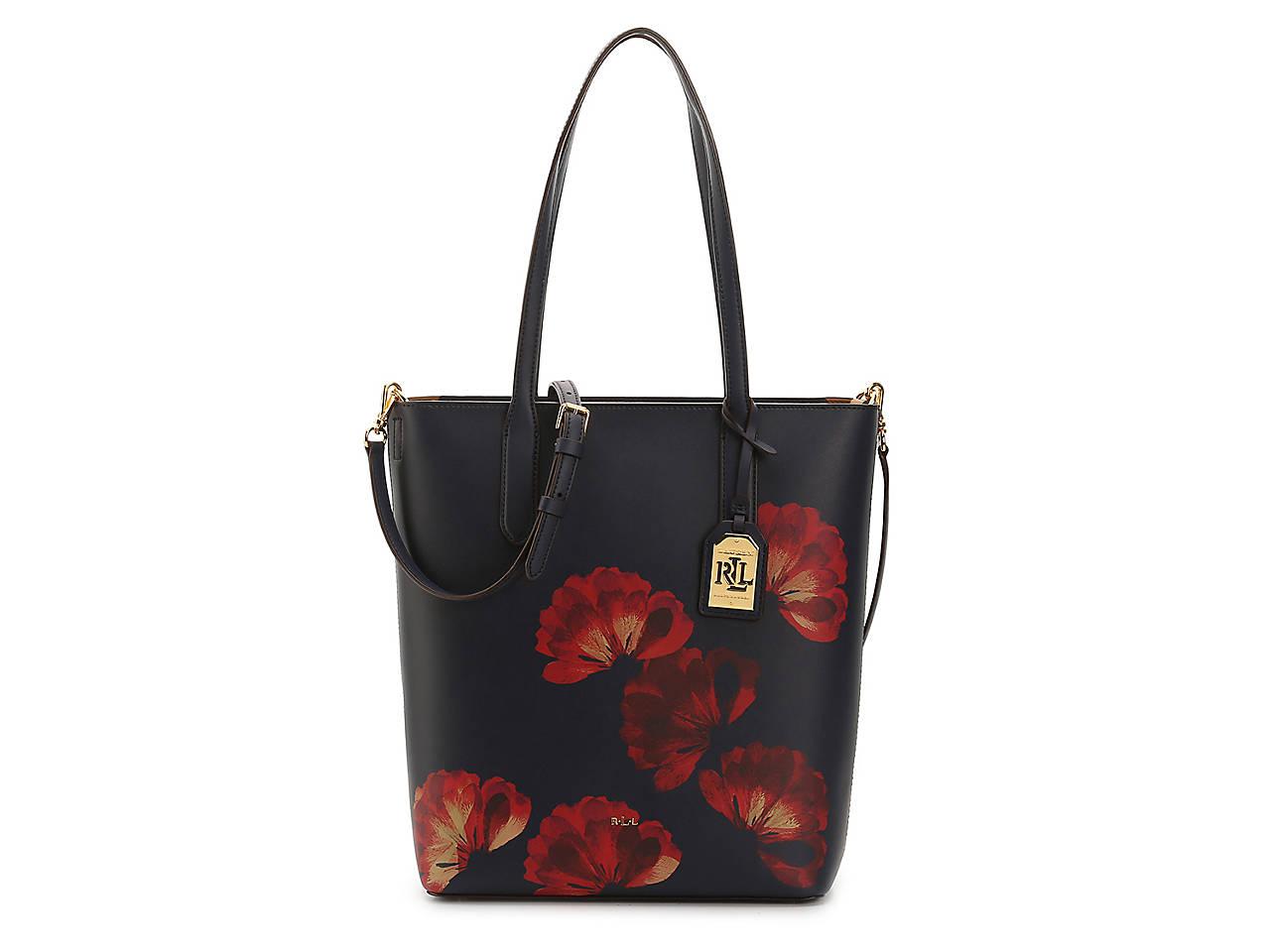 7ff655552617 Lauren Ralph Lauren Dryden Alexis Leather Tote Women s Handbags ...