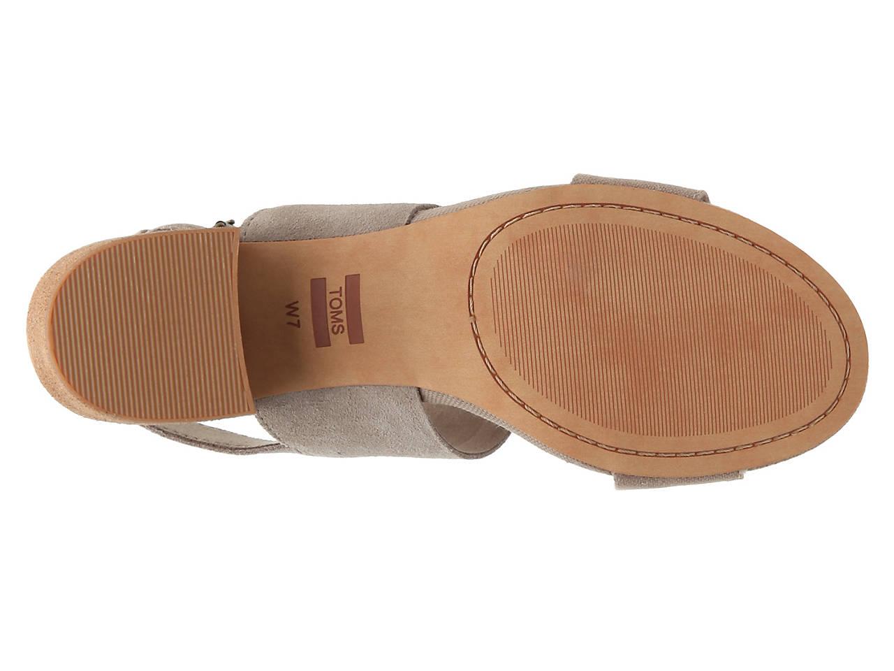 2f16235930f TOMS Poppy Sandal Women s Shoes