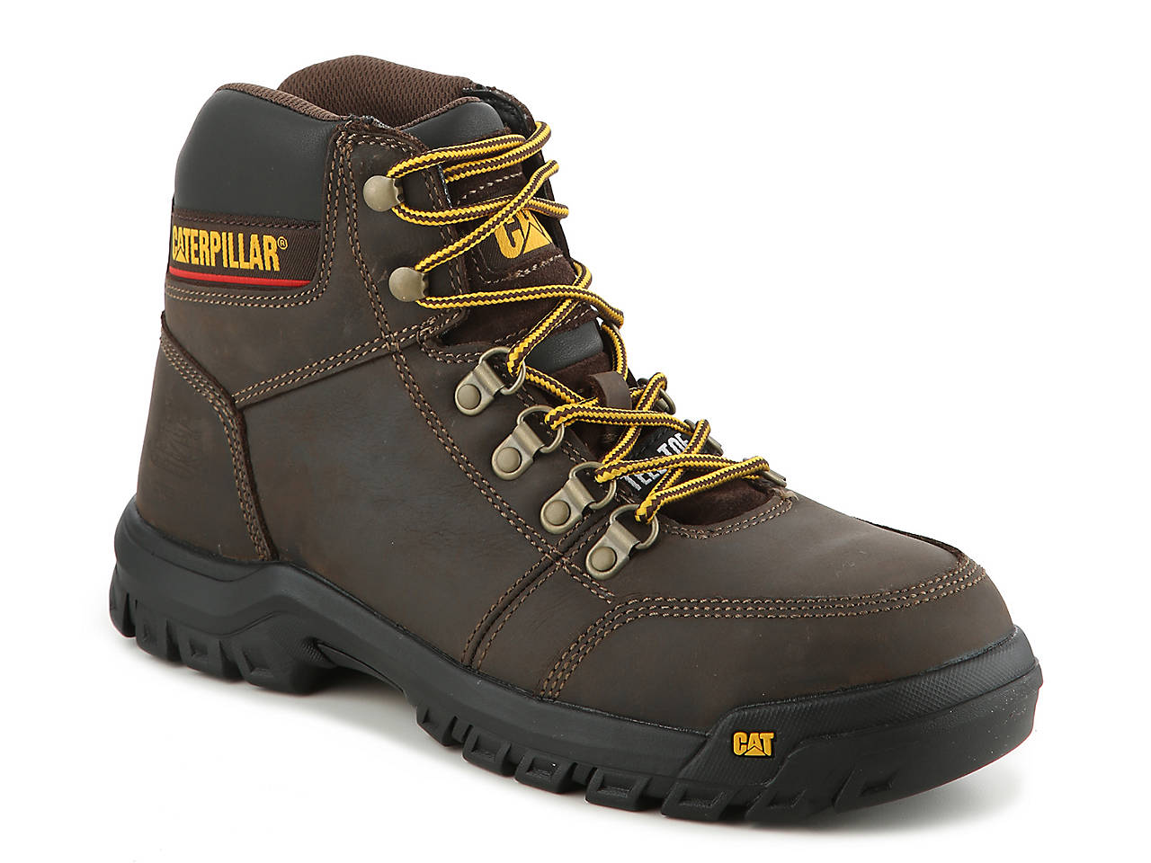 29a43e572831 Caterpillar Outline ST Steel Toe Work Boot Men's Shoes | DSW