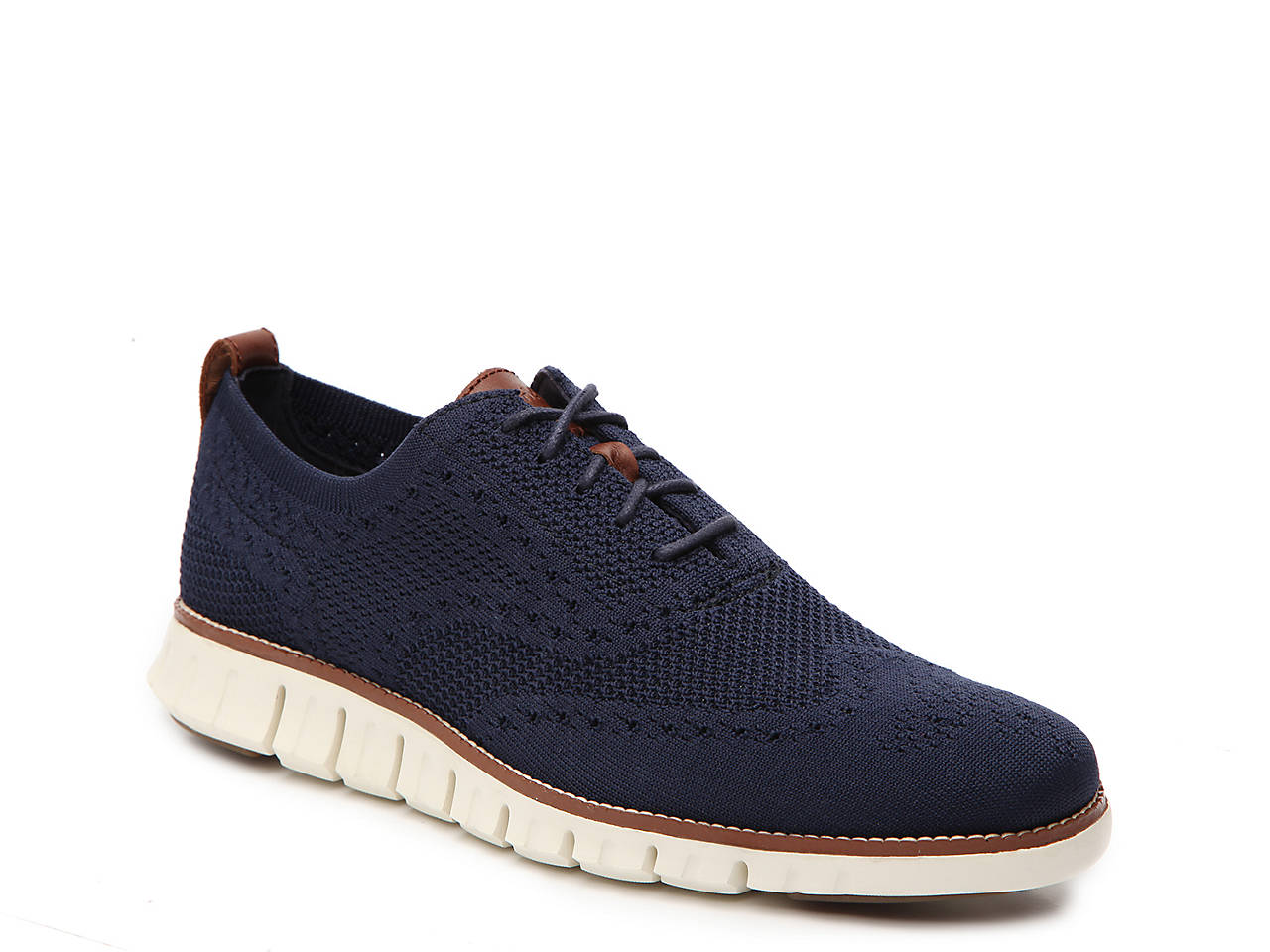 Cole Haan Zerogrand Stitchlite Wingtip Oxford Men\'s Shoes | DSW