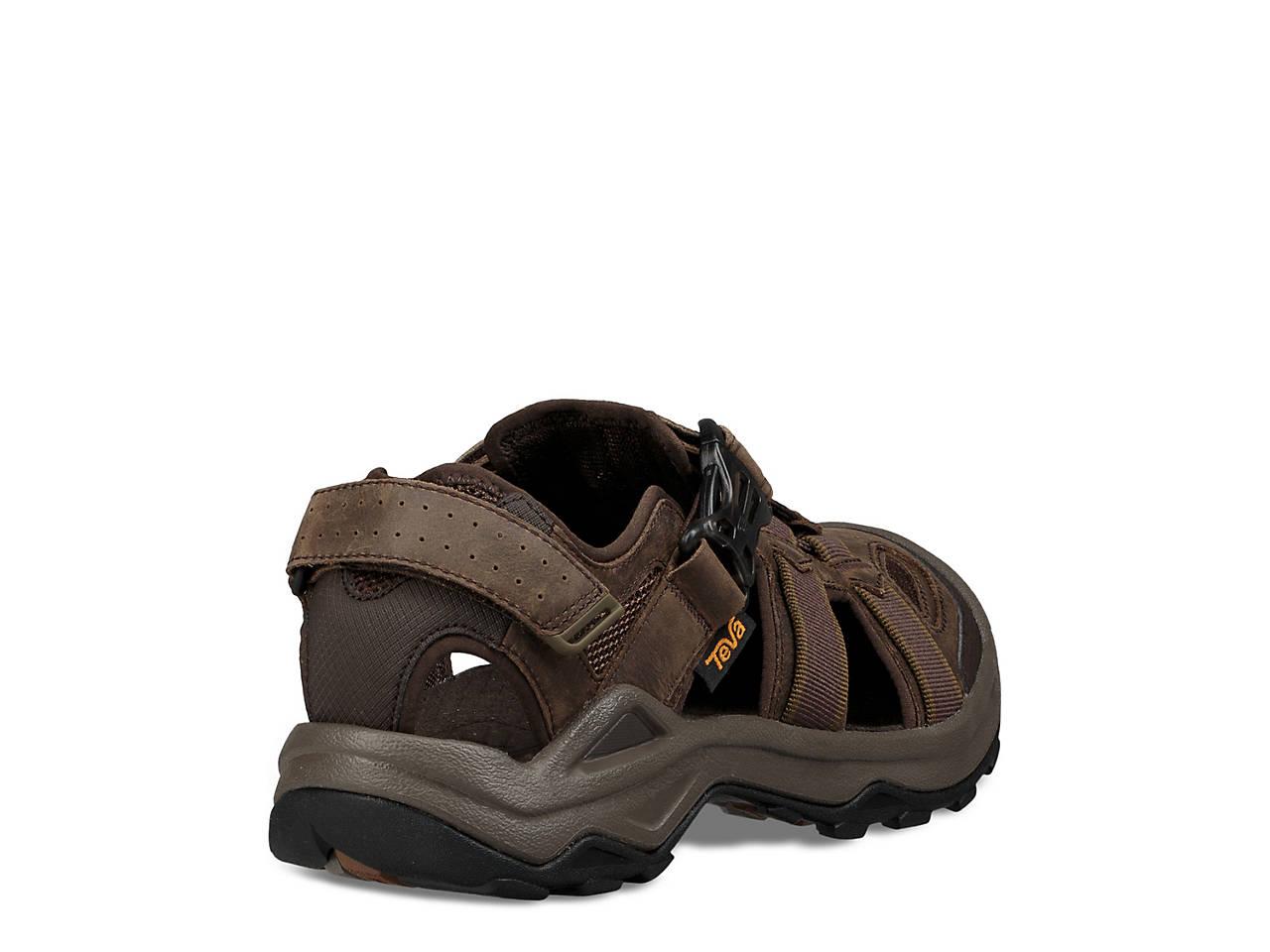 Teva Omnium 2 Leather Fisherman Sandal Men S Shoes Dsw