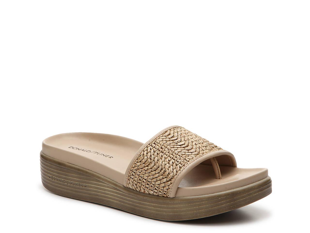 a1c7b306a9a Donald Pliner Fiji Wedge Sandal Women s Shoes