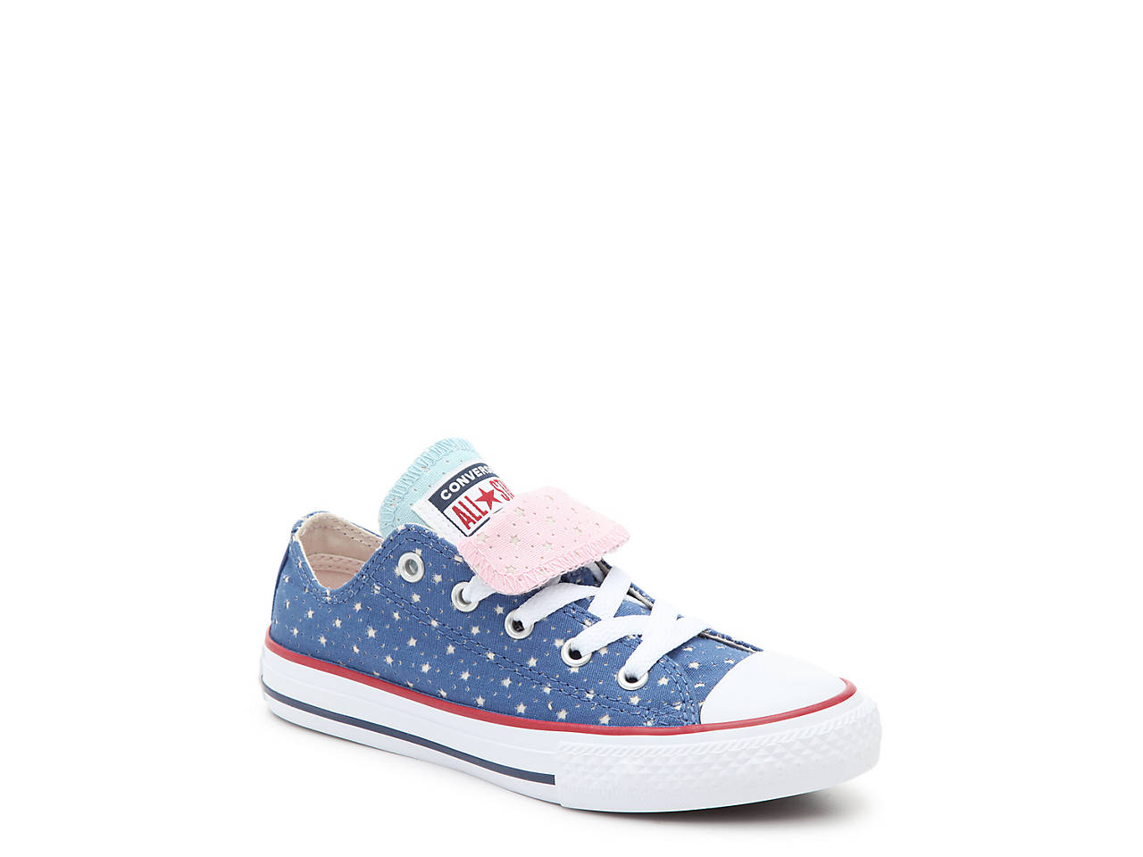 650091cfe643da Converse Chuck Taylor All Star Double Tongue Toddler   Youth Sneaker ...