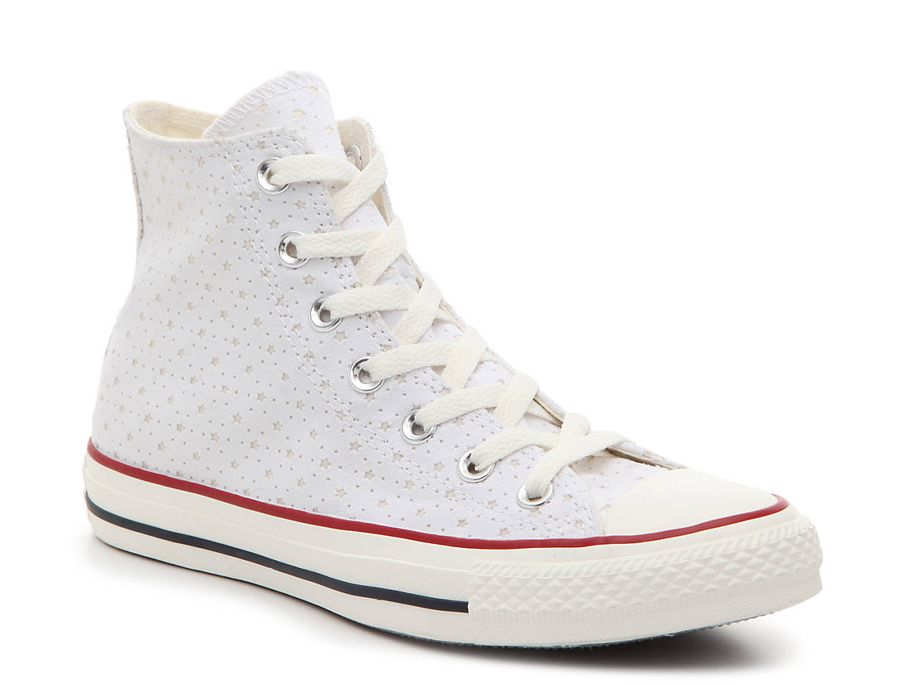 bbc9284798b7 Converse Chuck Taylor All Star Perforated High-Top Sneaker - Women s ...