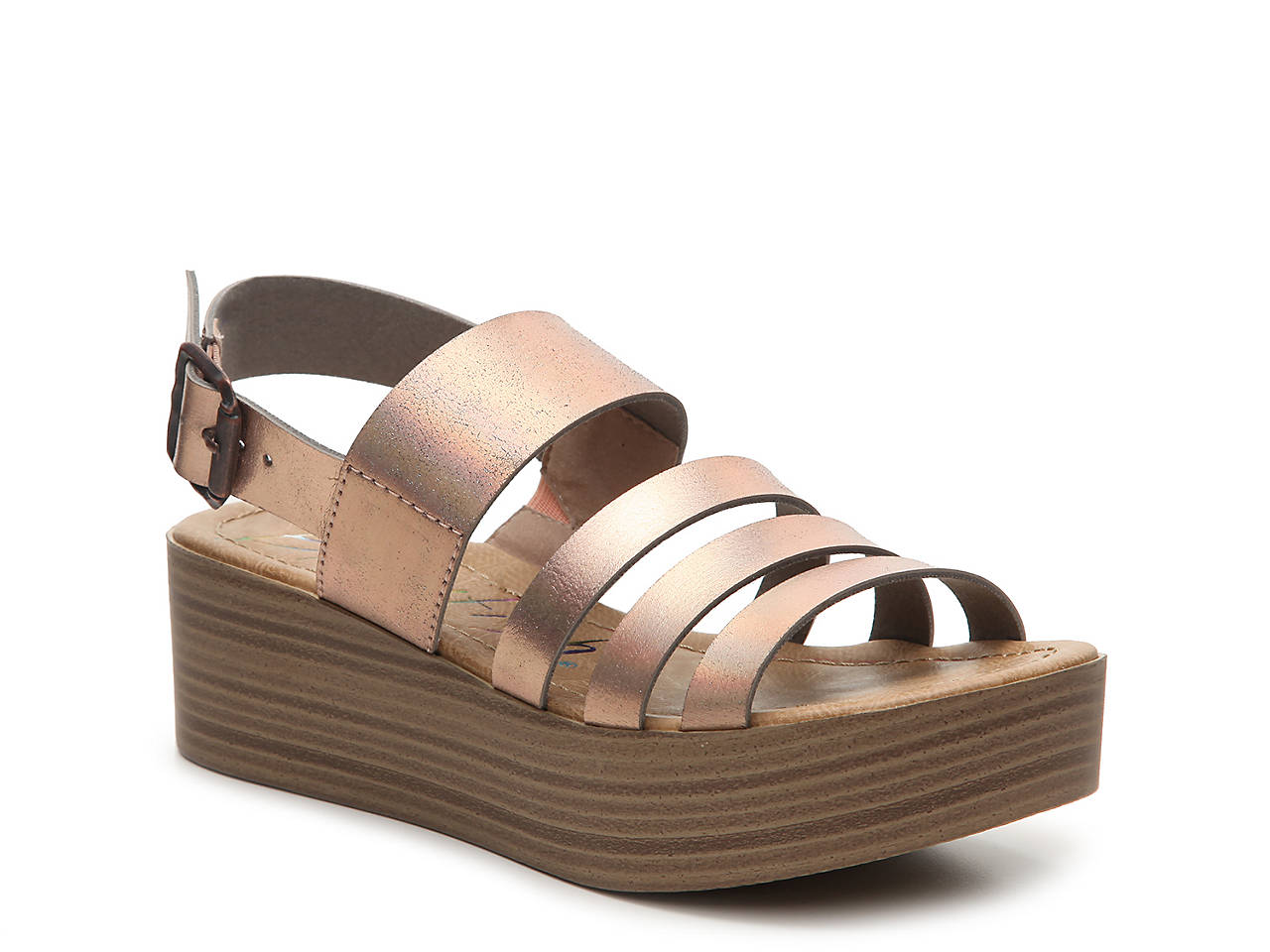 b4abf97400d Blowfish Lemmy Wedge Sandal Women s Shoes
