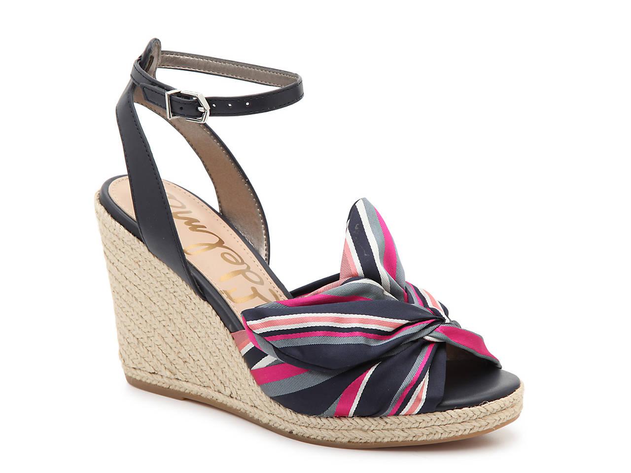 8ea5255625f2 Sam Edelman Aubrey Wedge Sandal Women s Shoes