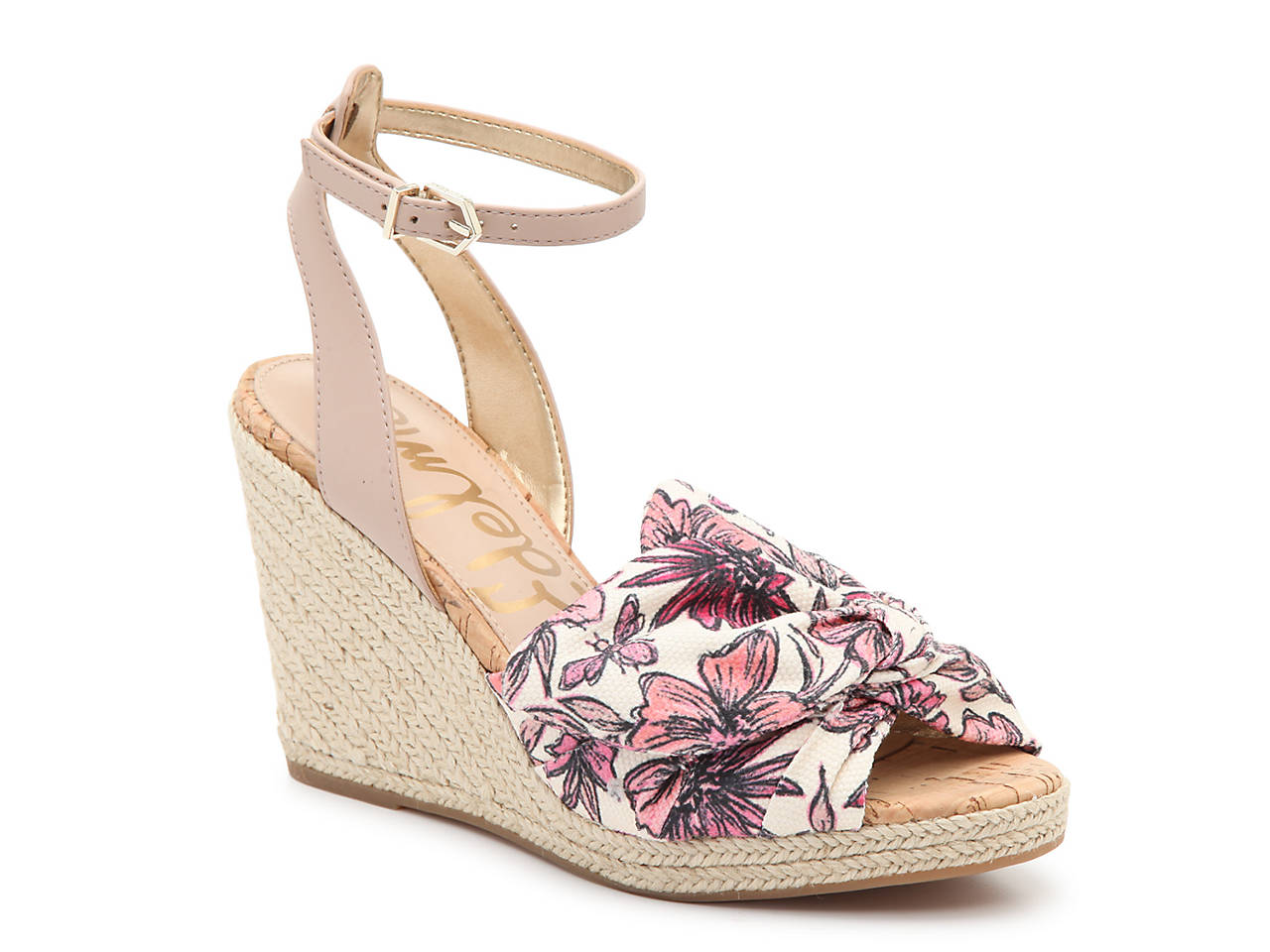 8ccdda4c801fd Sam Edelman Aubrey Wedge Sandal Women s Shoes