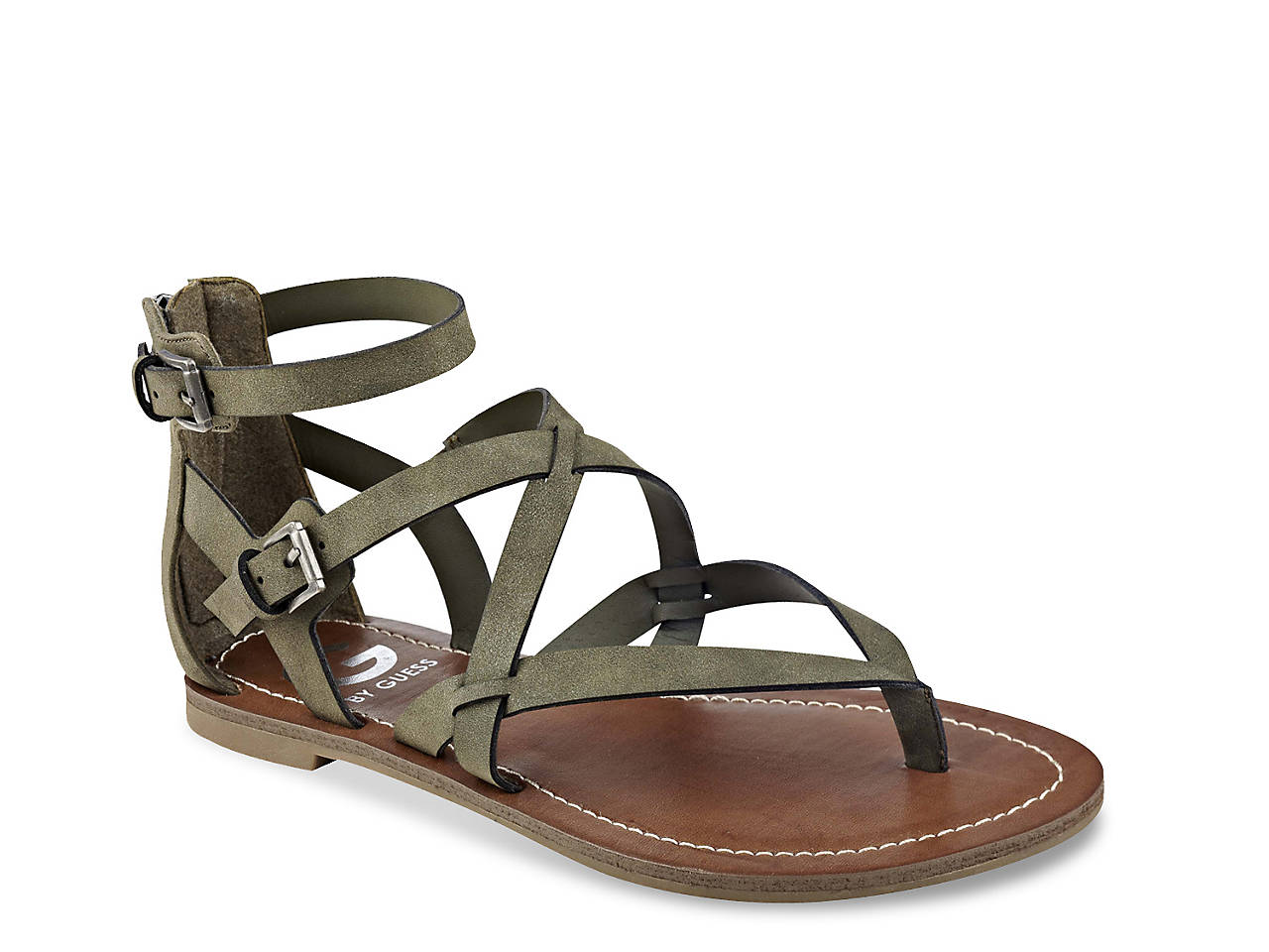 456f470d0 G by GUESS Howy Gladiator Sandal Women s Shoes