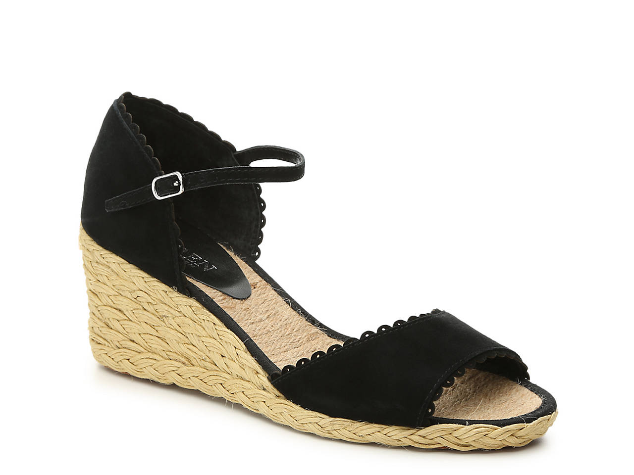 New Online Free Shipping Best Place Ralph Lauren Collection Embossed Wedge Sandals Top Quality Cheap Sale 100% Guaranteed aJVw3KL7w