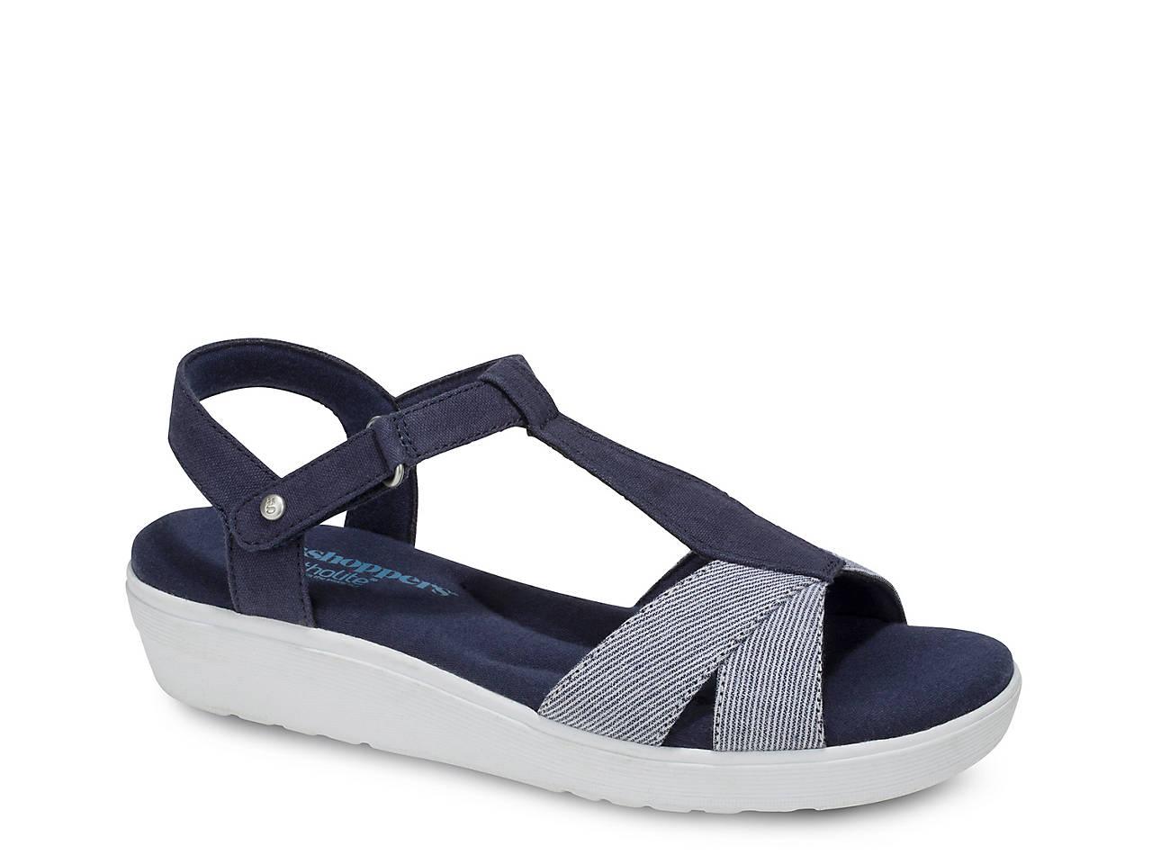 c2395c8da486 Grasshoppers Clover Wedge Sandal Women s Shoes