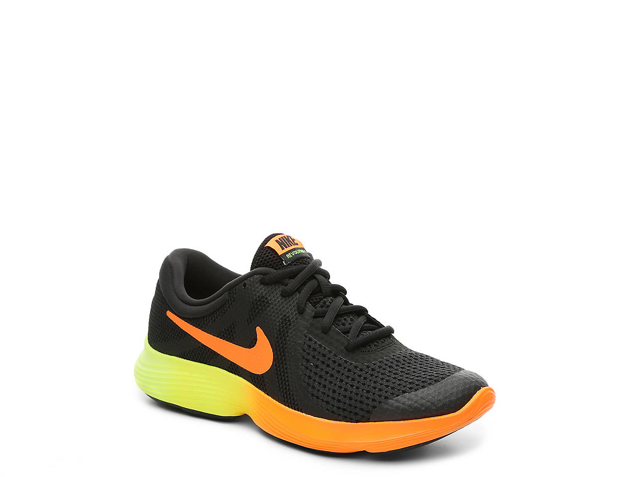 818d34818256 Nike Revolution 4 Youth Running Shoe Kids Shoes