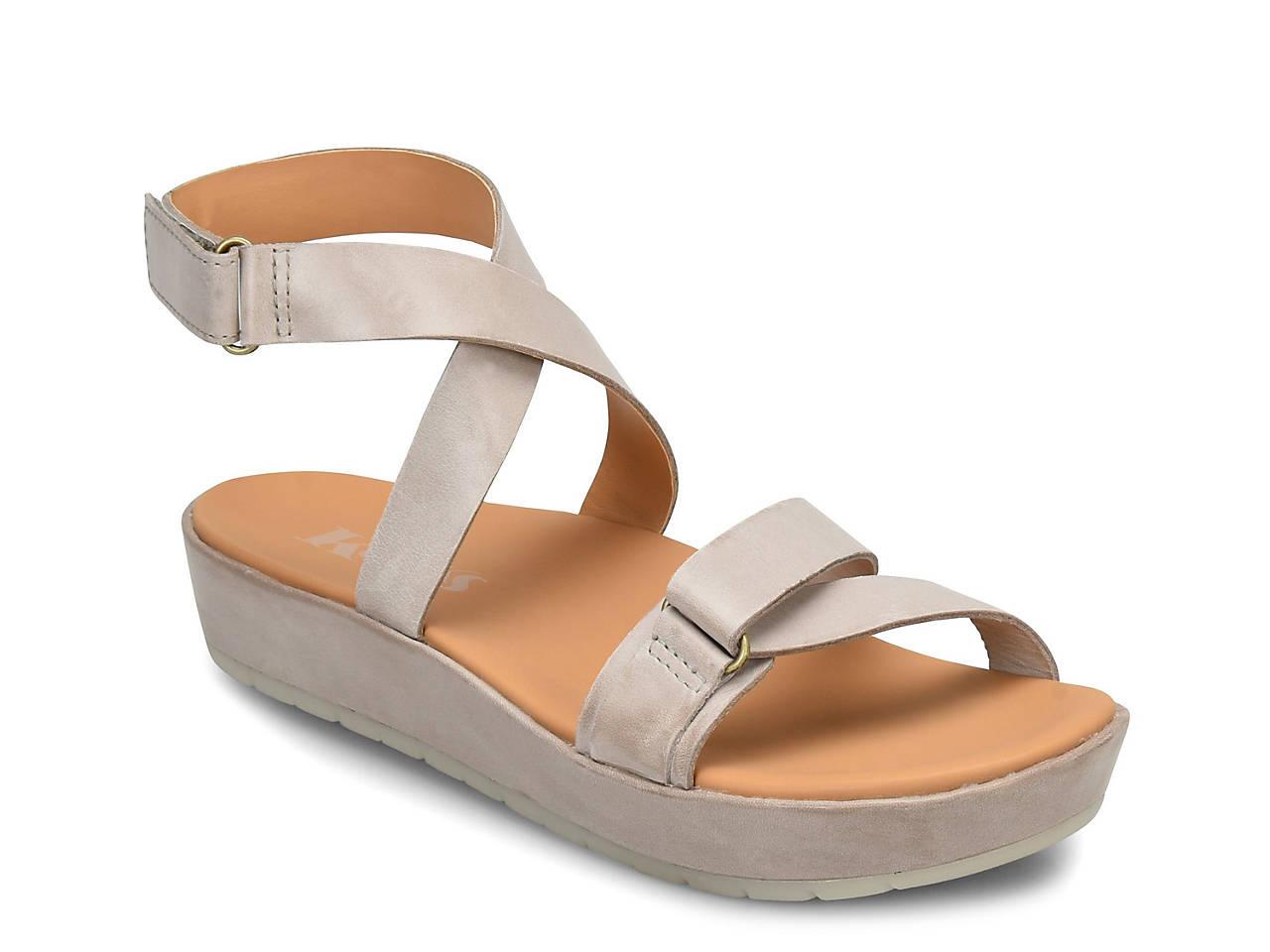 db5b8f88c898 Korks Teal Platform Sandal Women s Shoes