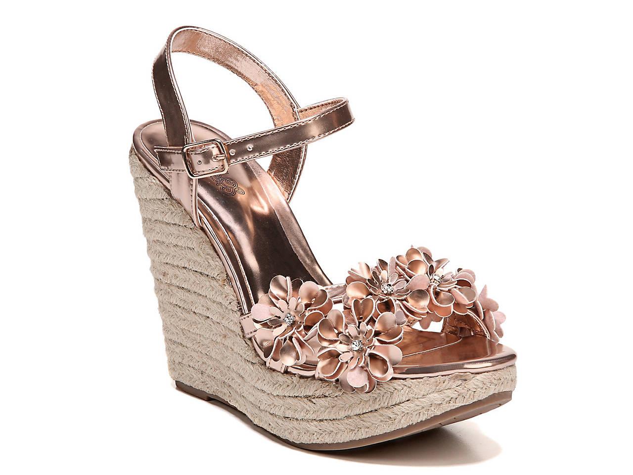 c3b667cc6ca Carlos by Carlos Santana Belinda Wedge Sandal Men s Shoes