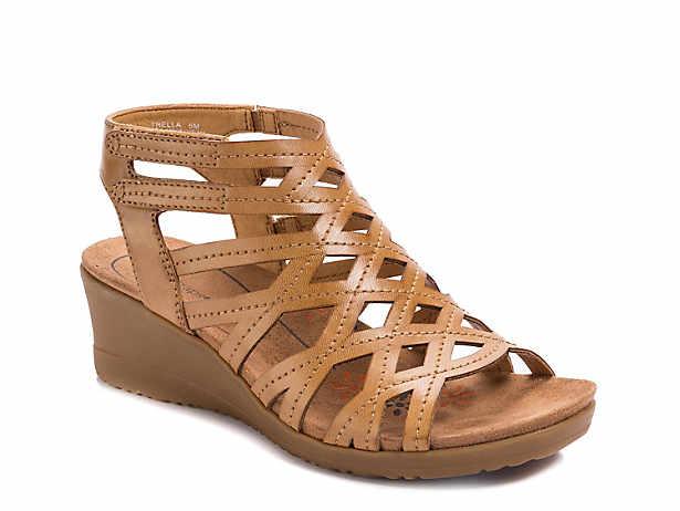 e75ec1315 Bare Traps. Trella Wedge Sandal