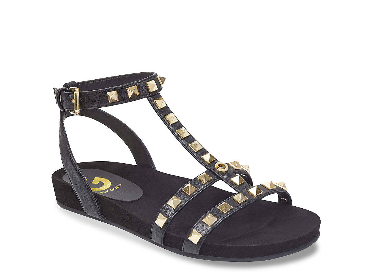 cb593f08ba90 G by GUESS Sherri Gladiator Sandal Women s Shoes