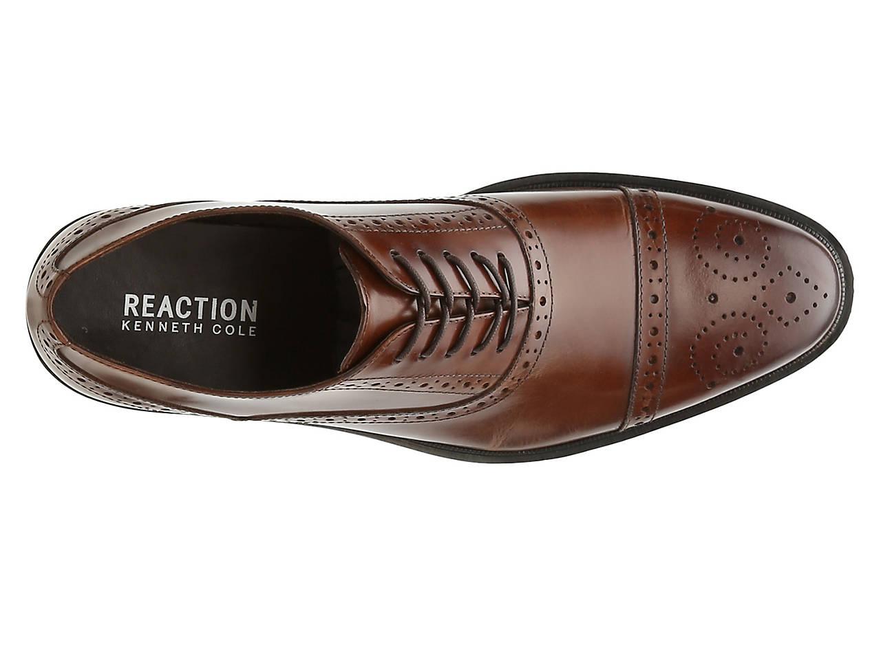 e63e0015dc7e Kenneth Cole Reaction Design Cap Toe Oxford Men s Shoes