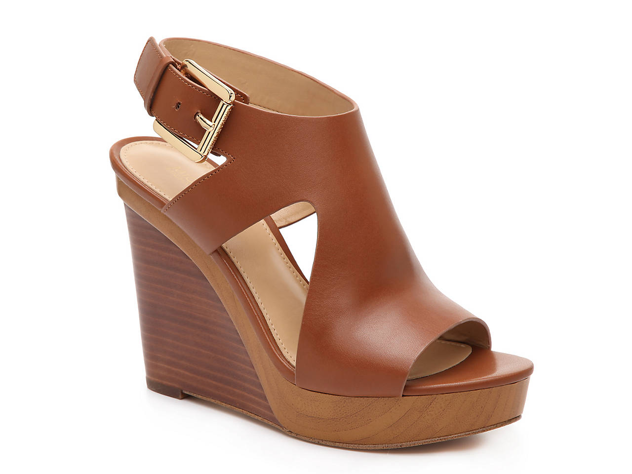 4ab11423f75 Michael Michael Kors Josephine Wedge Sandal Women s Shoes