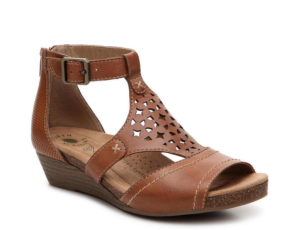 ae03f2dcc34 Earth Origins Hermia Wedge Sandal Women s Shoes