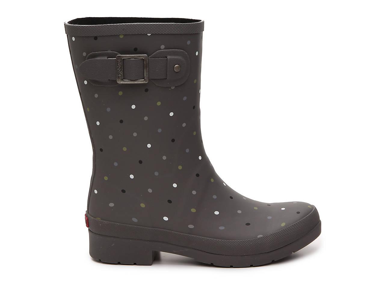 CHOOKA Multicolor Dot Rain Boot fjJBf