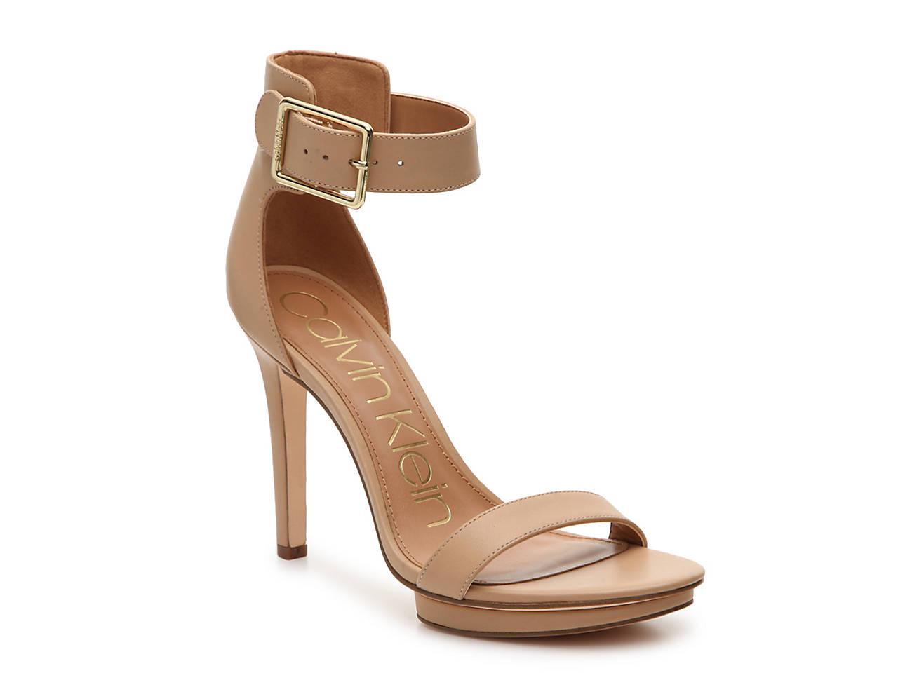 12738ad5a84 Calvin Klein Vivian Platform Sandal Women s Shoes