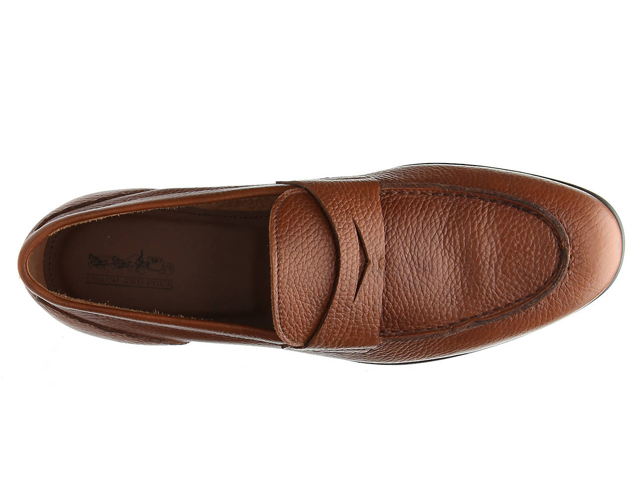 0e4f3d60690 Coach and Four Dante Penny Loafer Men s Shoes