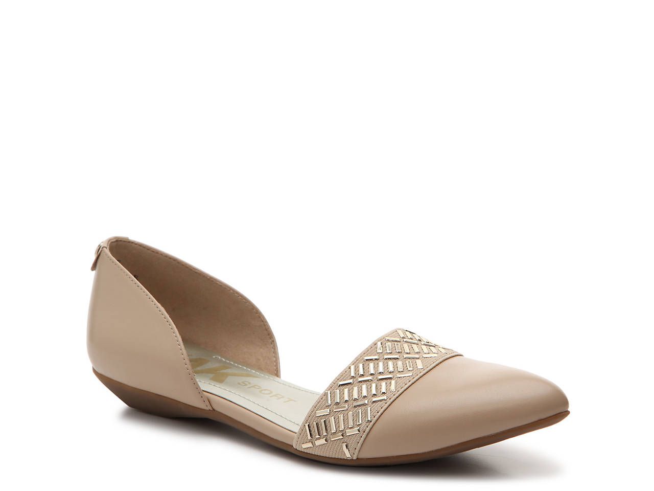 ecb104a9850 Anne Klein Sport Oma Flat Women s Shoes