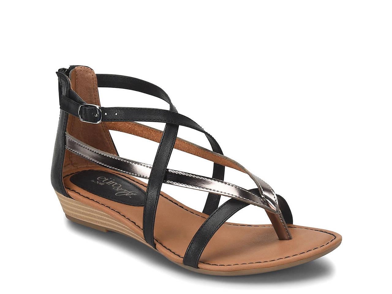 3f893403b7a5 Eurosoft Melba Wedge Sandal Women s Shoes
