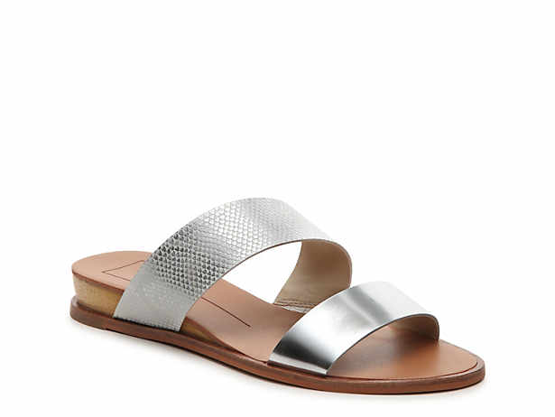 Women S Silver Wedge Sandals Dsw