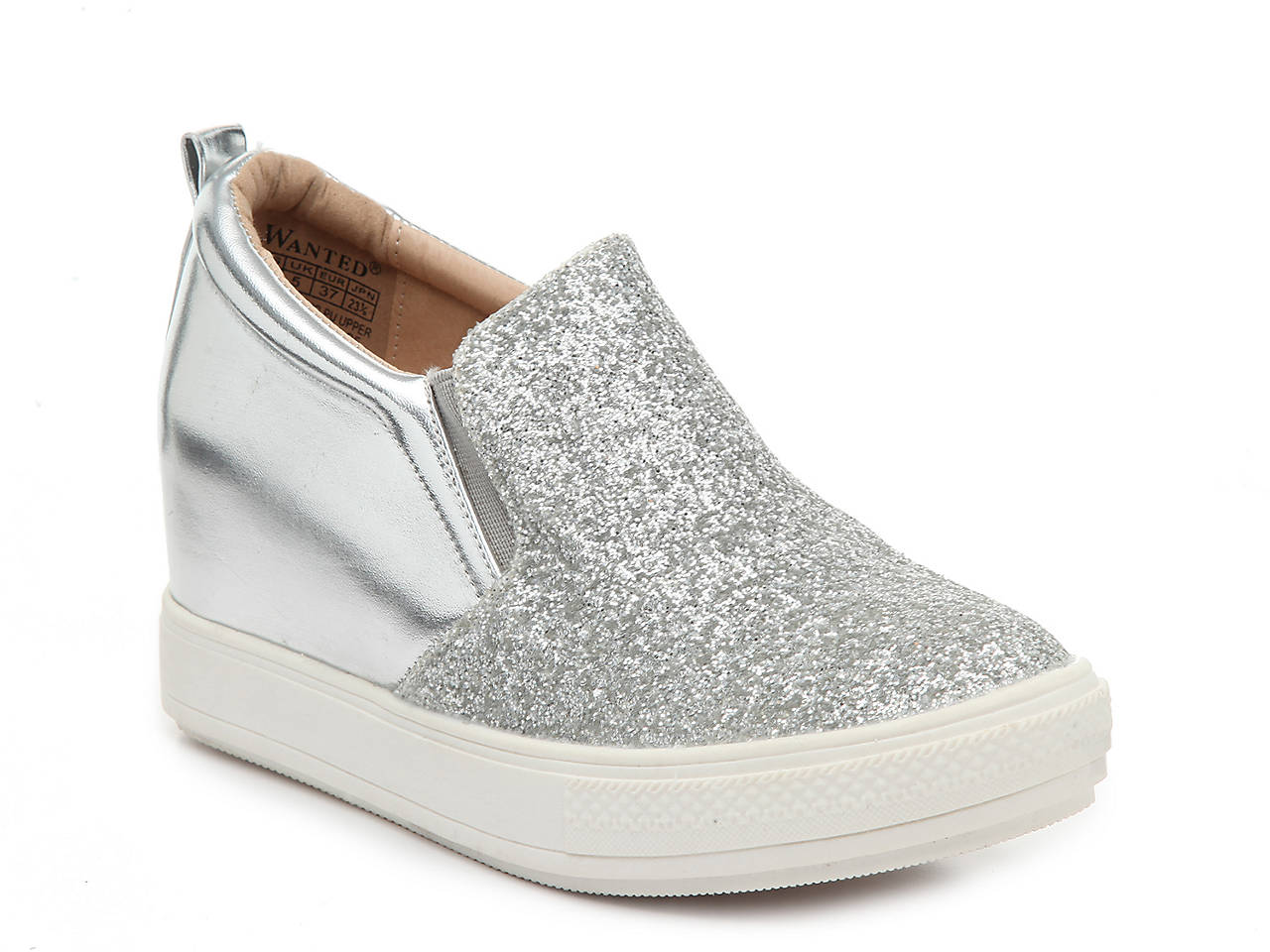 e4118b9066d0 Wanted Luminous Wedge Slip-On Sneaker Women s Shoes