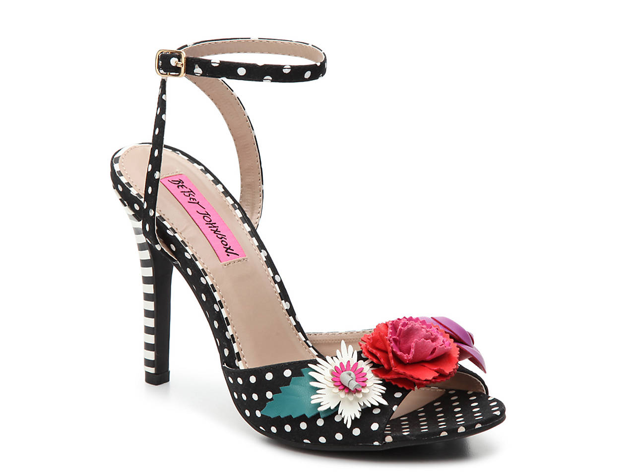 b0caa8a789 Betsey Johnson Jamie Sandal Women s Shoes