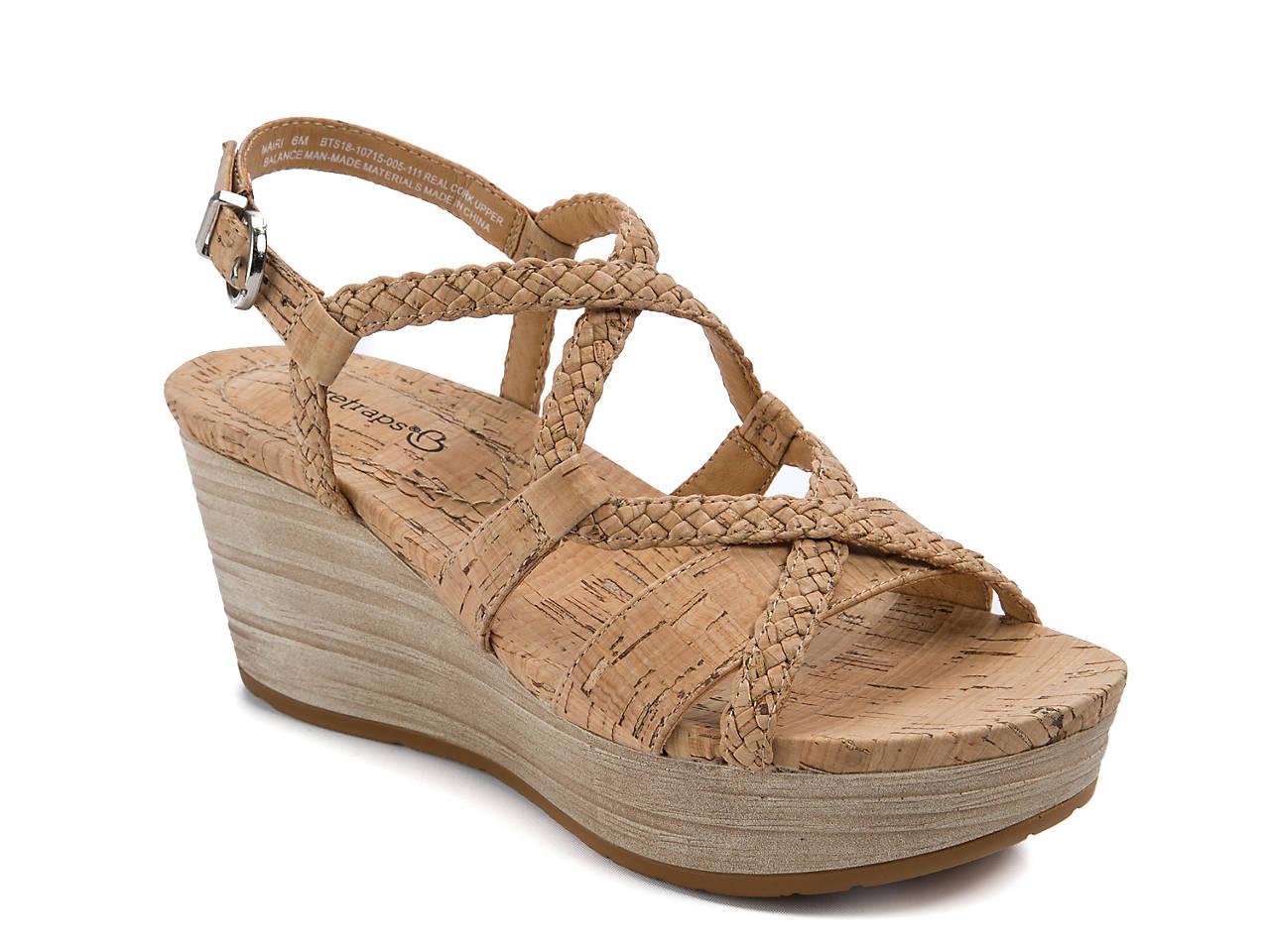 f19405efa4 Bare Traps Mairi Wedge Sandal Women's Shoes   DSW