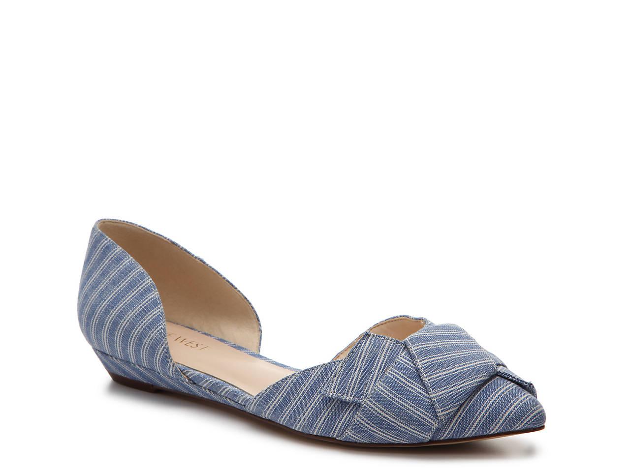 7edfc80322a Nine West Solevieve Oragami Flat Women s Shoes
