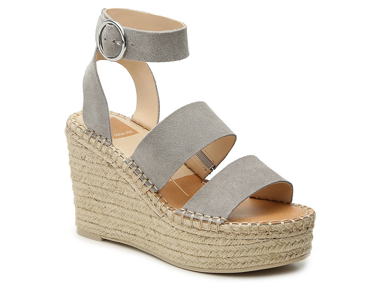 4900044c89f Dolce Vita Shae Espadrille Wedge Sandal Women s Shoes