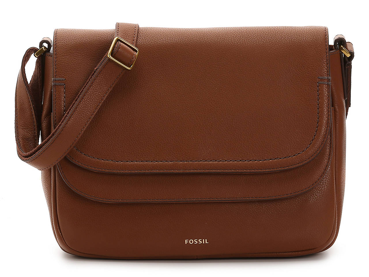 047d53ab3310 Fossil Peyton Leather Crossbody Bag Women's Handbags & Accessories | DSW